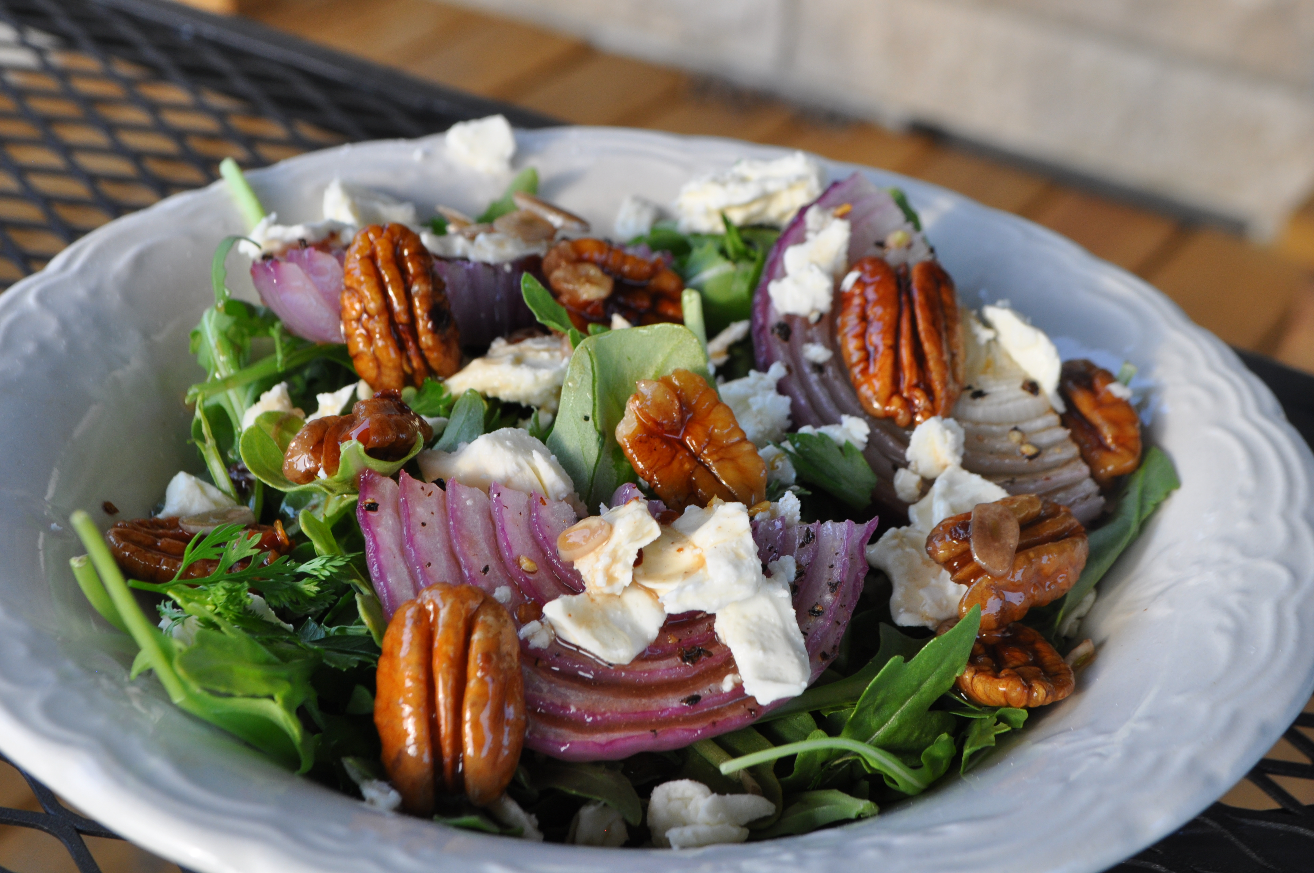 The best salad with pickled onions 66