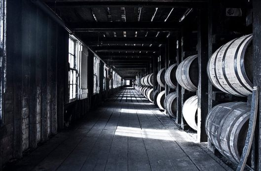 barrels in rick house