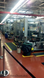 Part of the bottling line.