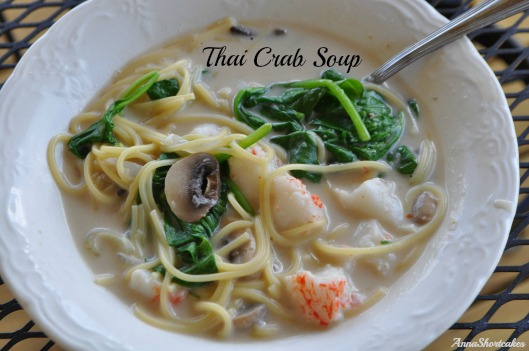 thai crab soup